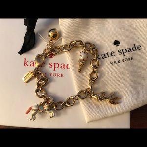 Kate Spade How Charming Charm Bracelet, NWOT